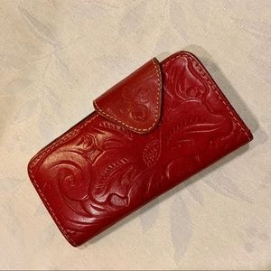 Patricia Nash iPhone wallet/case